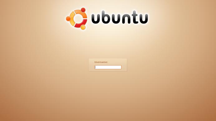 Ubuntu 7.04 login