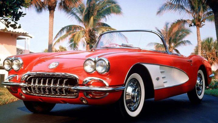 chevrolet-corvette-c1-718x404 Chevrolet Corvette - 1953 года ИСКУССТВО
