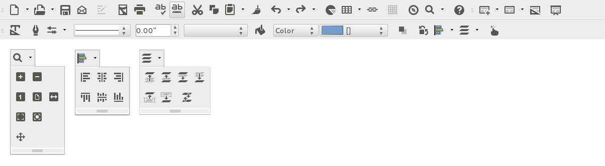 libreoffice-flat-icons Стильные иконки LibreOffice UBUNTU